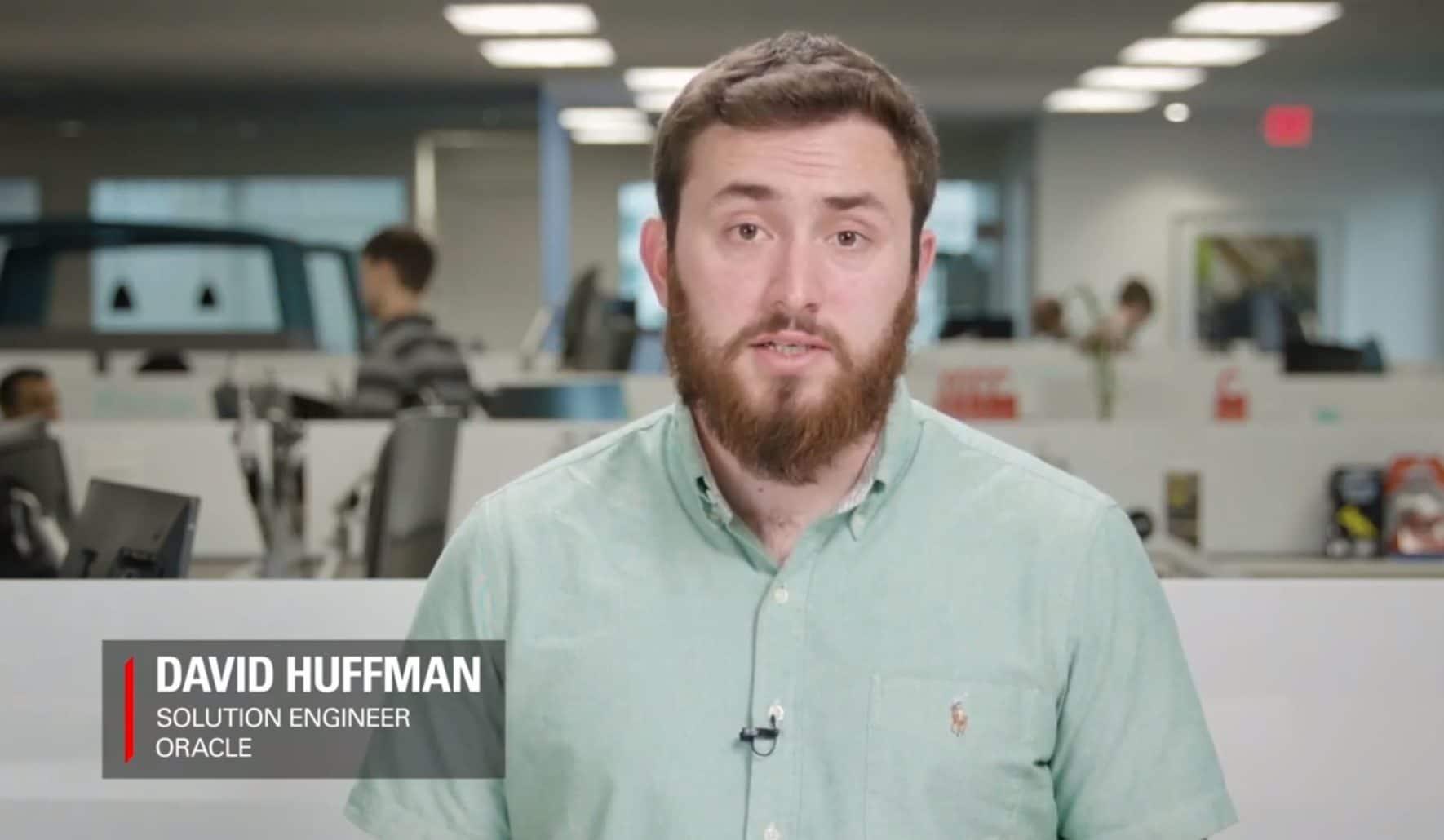 David Huffman screenshot from video