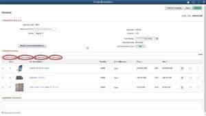 Enhancements to PeopleSoft eProcurement Fluid Requisitions