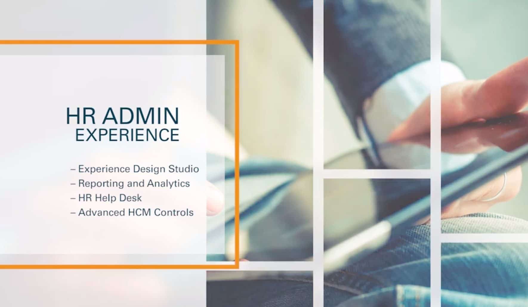 HCM-Cloud-HR-Administrator-Experience