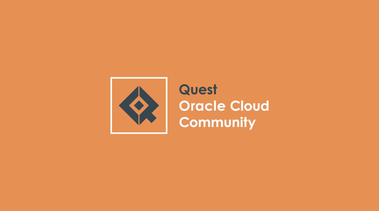 Quest Oracle Cloud Community Logo