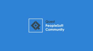 Quest PeopleSoft Community