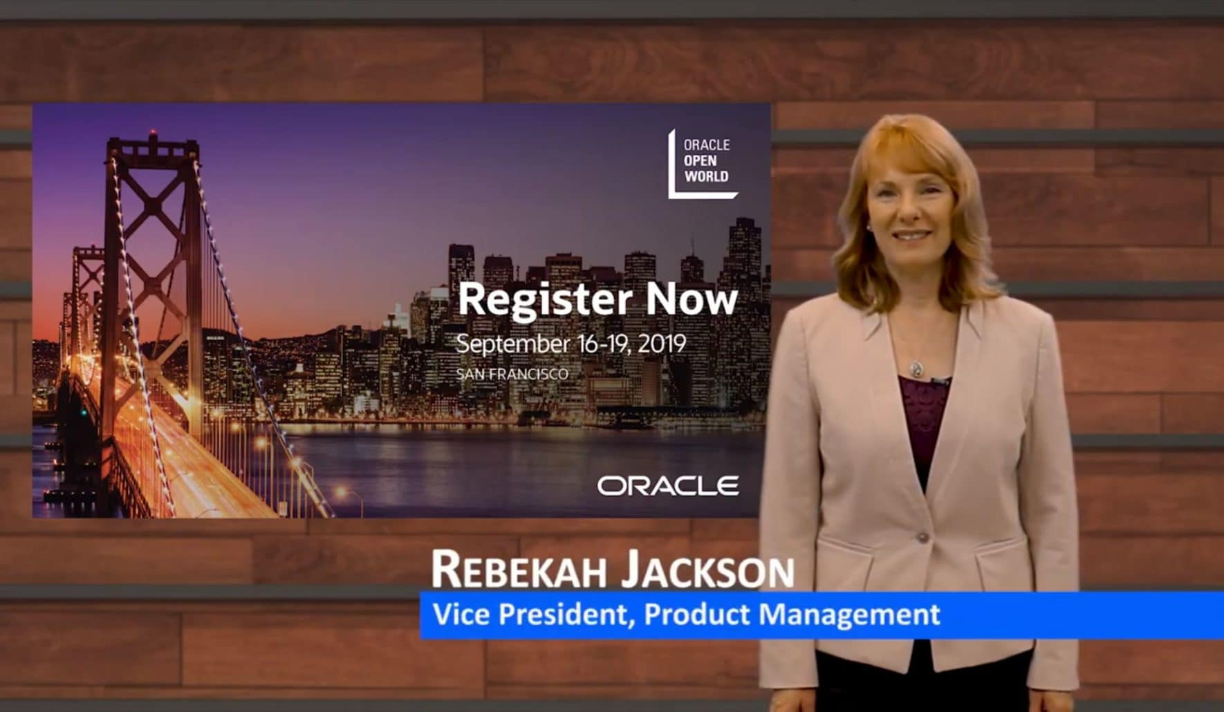 Oracle Open World: Registration