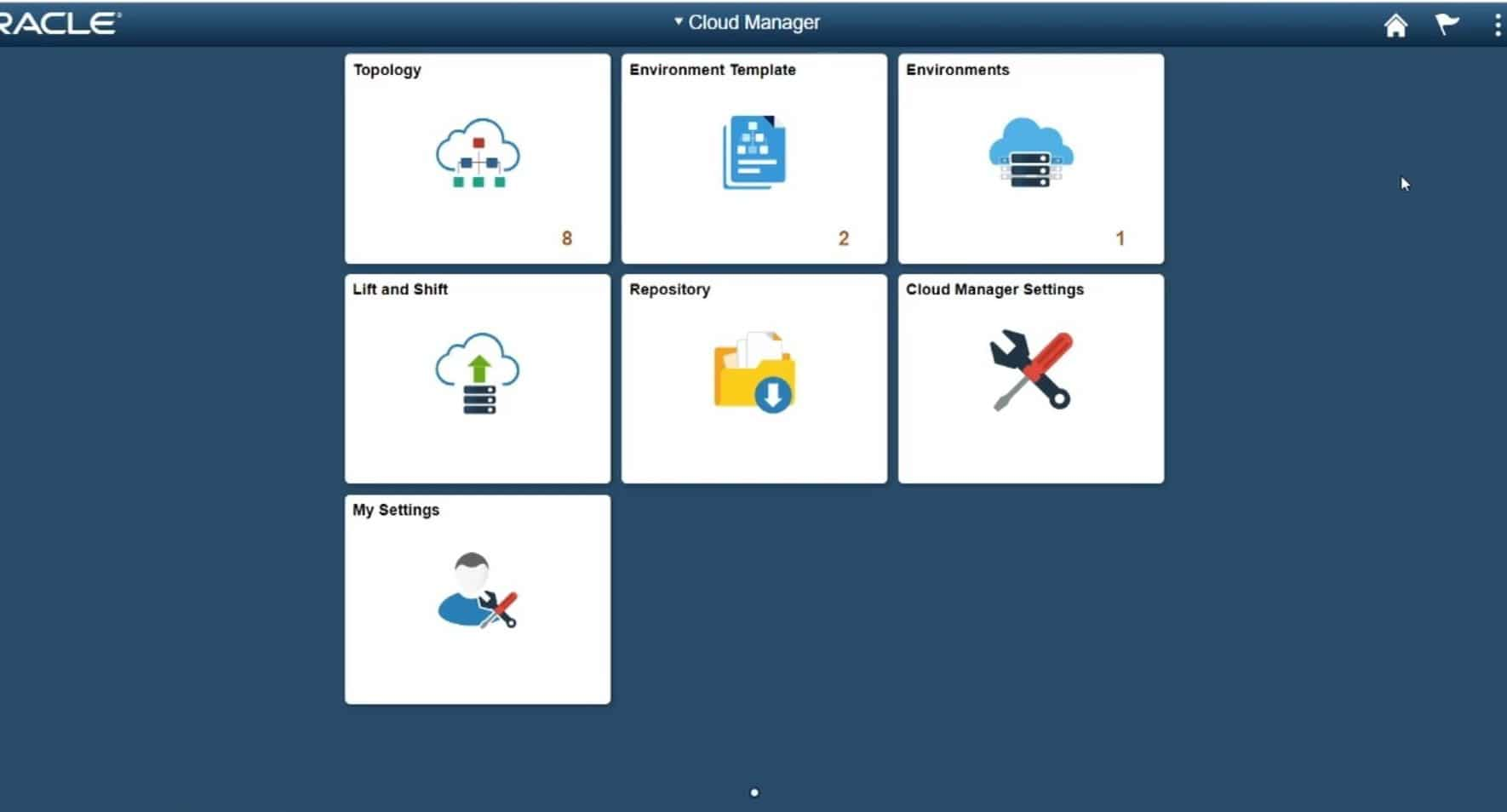 PeopleSoft-Cloud-Manager-Homepage