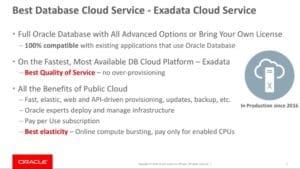Exadata-Cloud-Service
