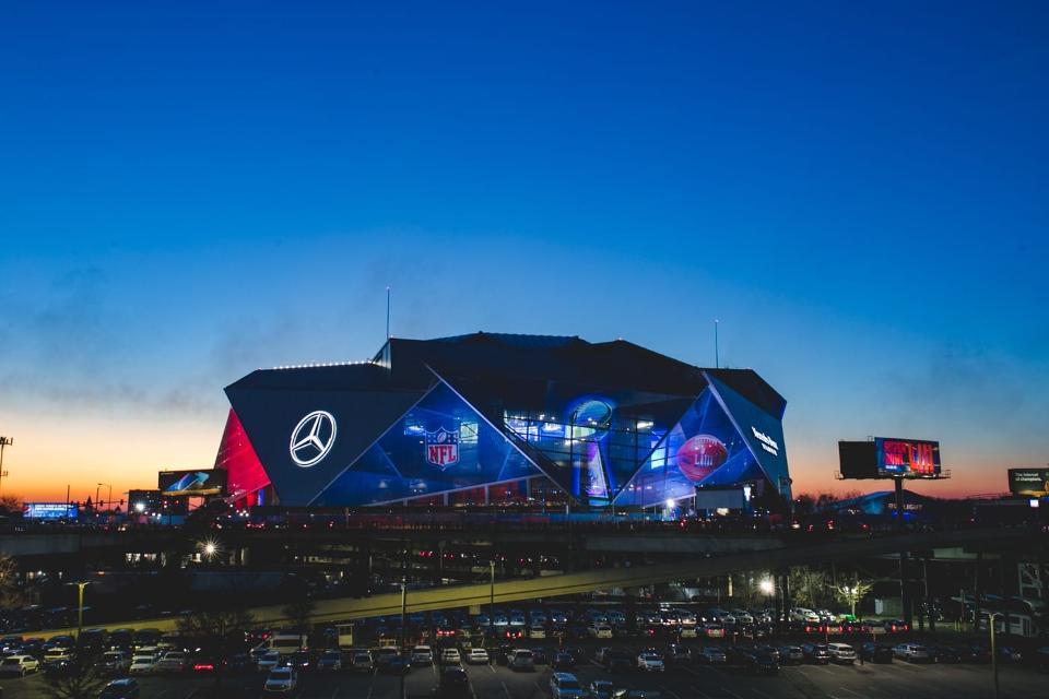 Atlanta Super Bowl, modernized with ERP Strategy