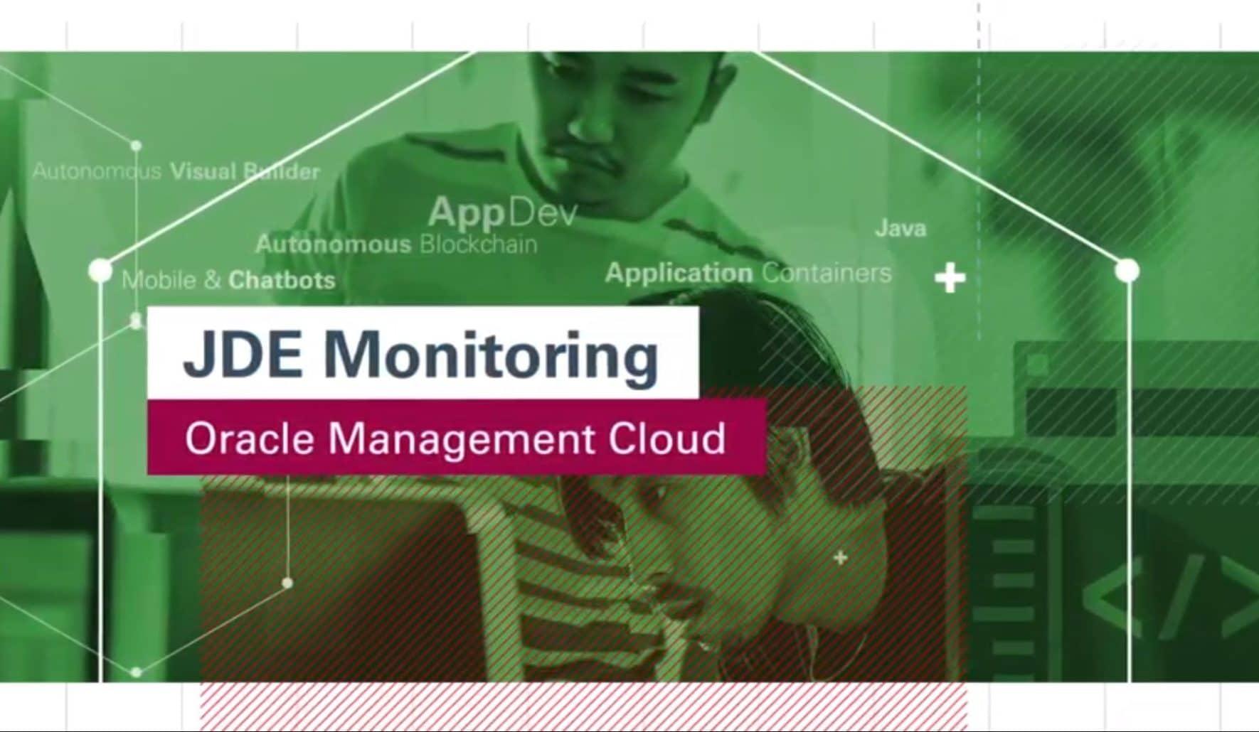 Oracle-Management-Cloud-for-JDE-Monitoring