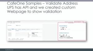 CafeOne-Address-Validation