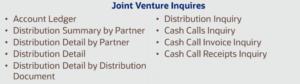 Joint Venture Inquiries