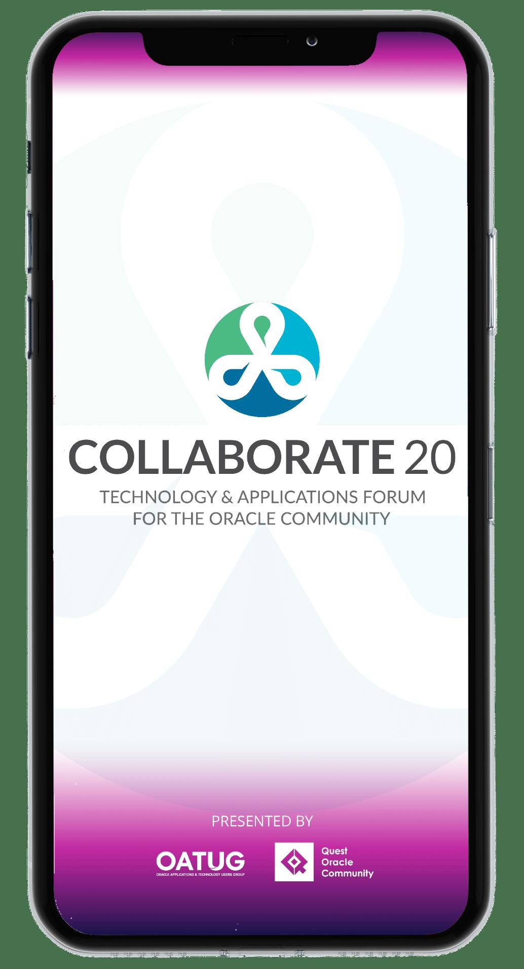 COLLABORATE 20 Mobile App