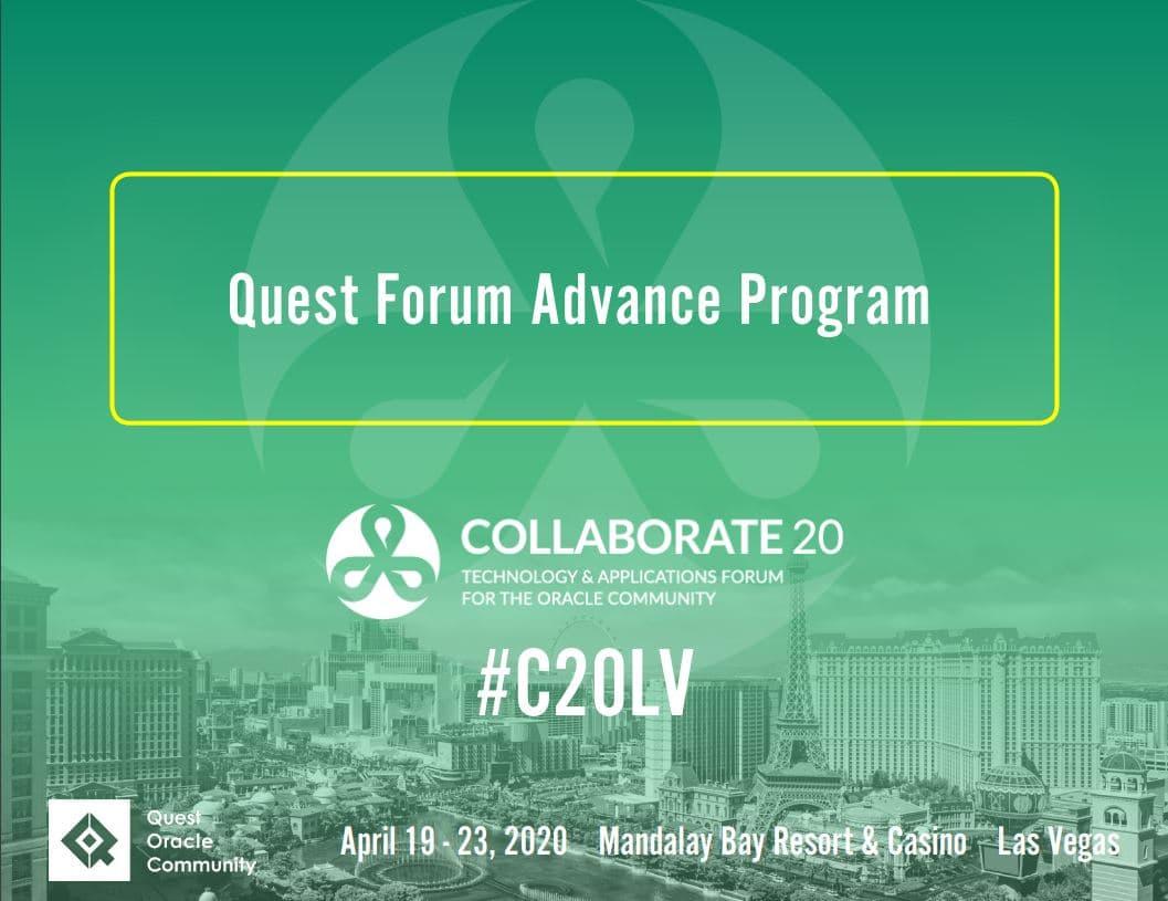 C20 Advance Program