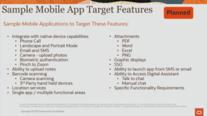 Mobile App Target Features