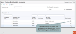 Distributable Accounts