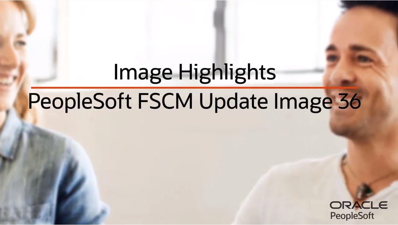FSCM Update Image 36 Highlights