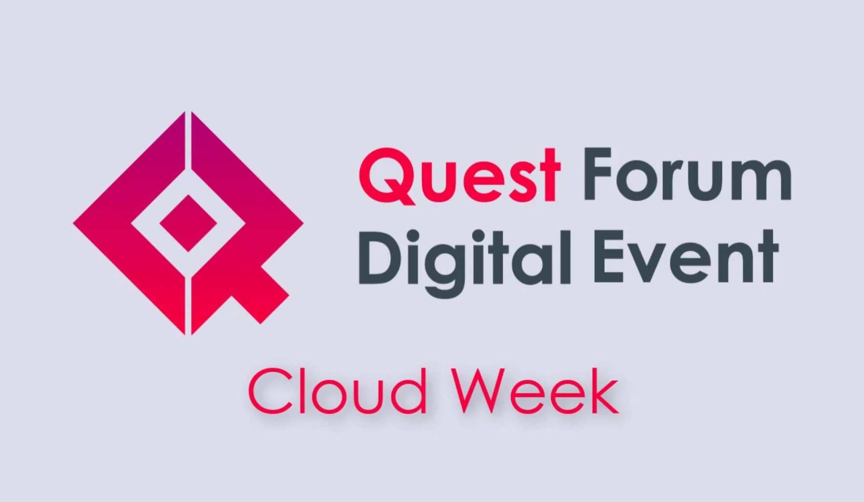 QFDE Cloud Week