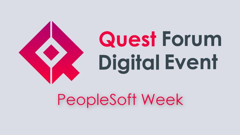 QFDE: PeopleSoft Week