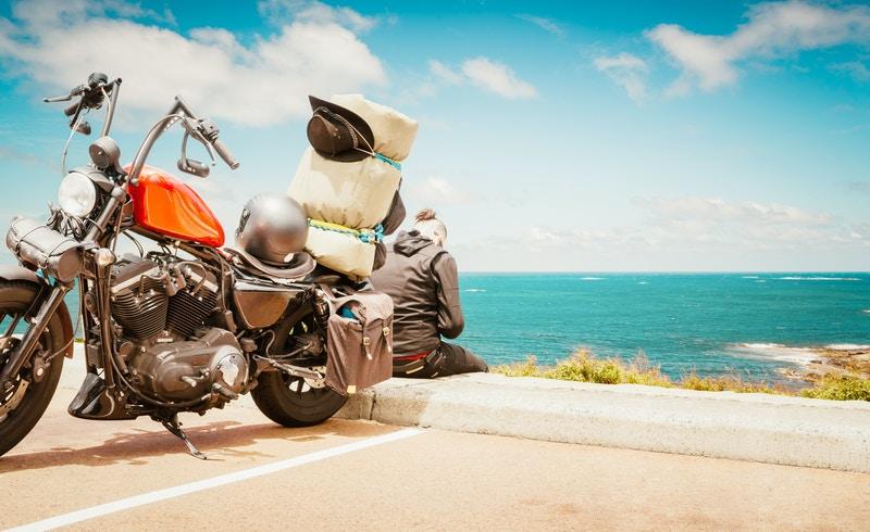 Custom helmets for motorcycles