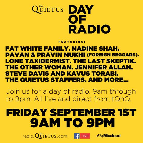 The Quietus | Features | Quietus Mixes & Radio | The Quietus