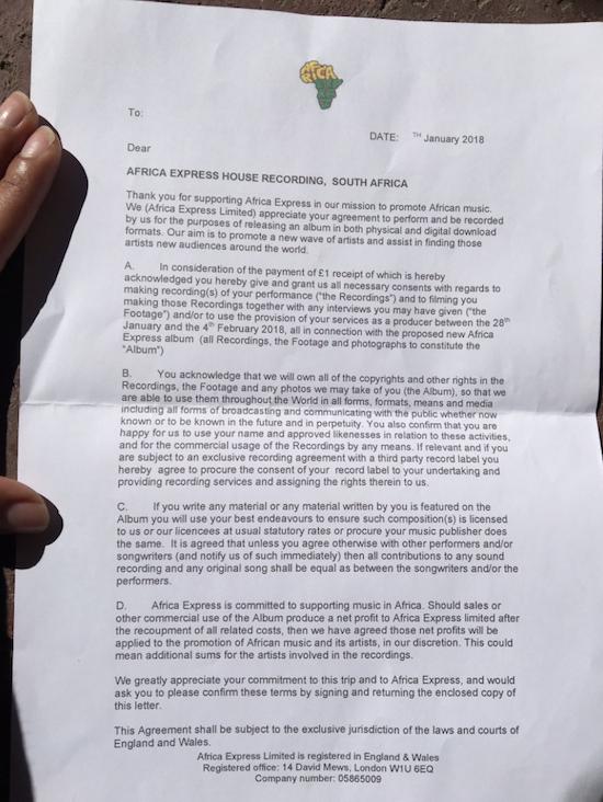 The Quietus | News | Nabihah Iqbal Criticises Africa Express