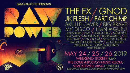 The Quietus | News | The Ex And More To Play Raw Power 2019