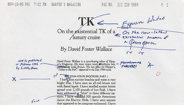 The philosophical underpinnings of David Foster Wallace's fiction.