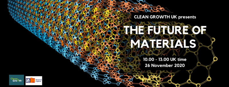 Clean Growth UK presents The Future of Materials | Hopin
