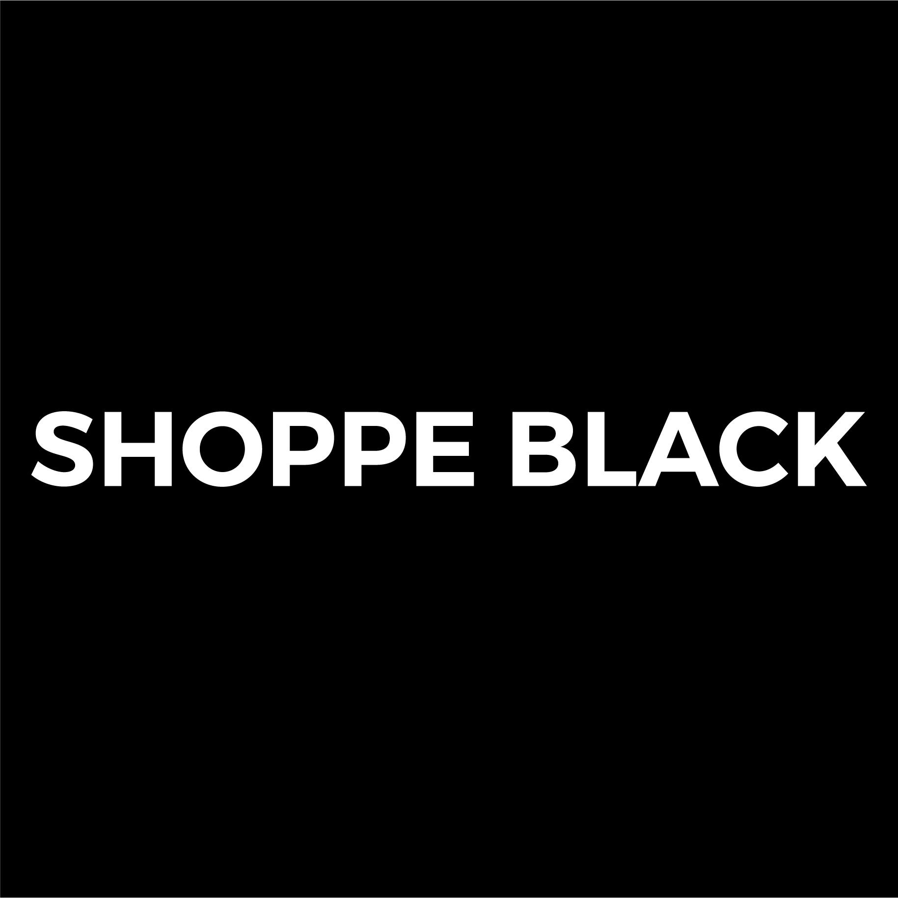 SHOPPE BLACK