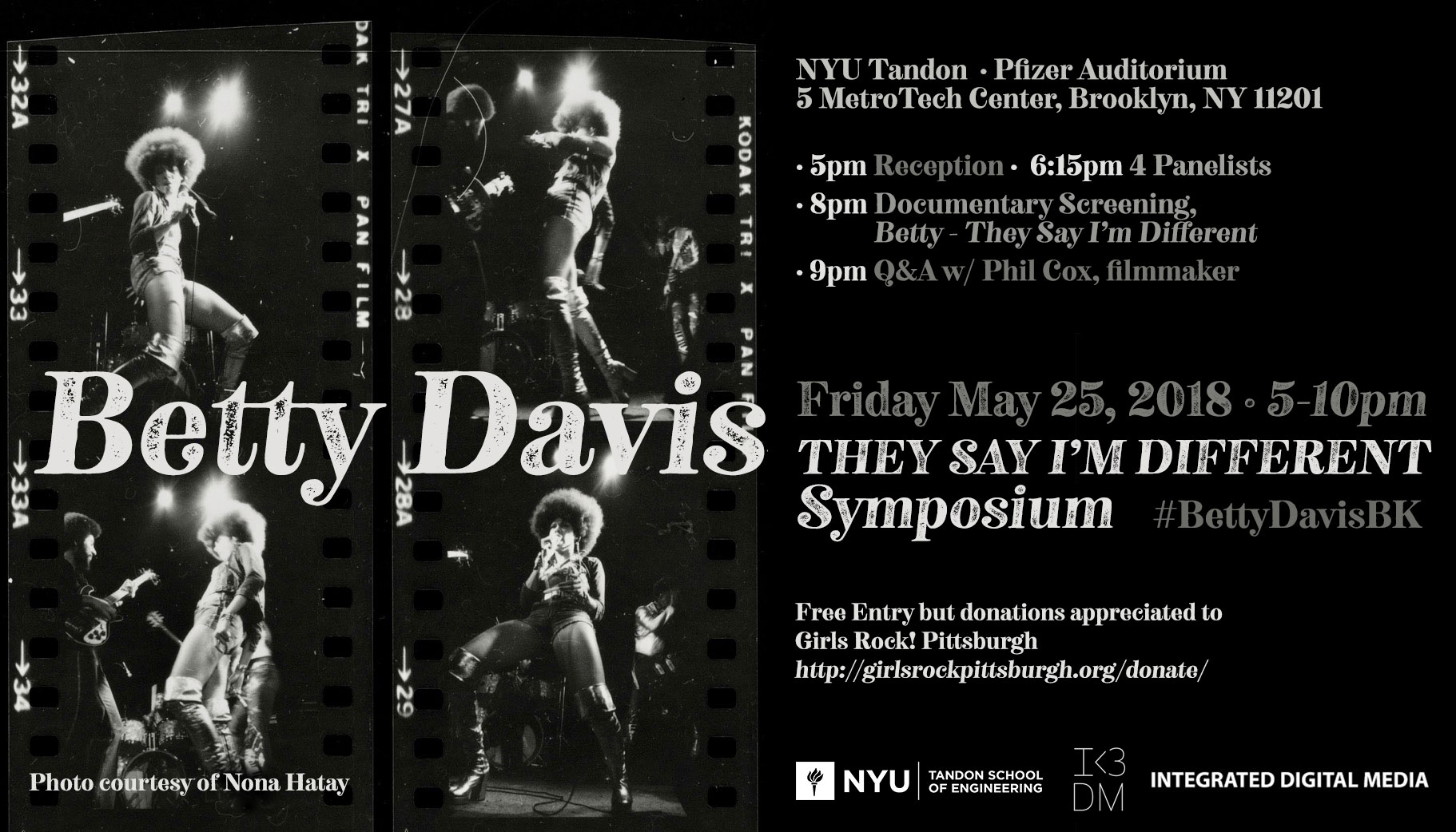 #BettyDavisBK Symposium (2018)