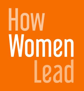 How Women Lead