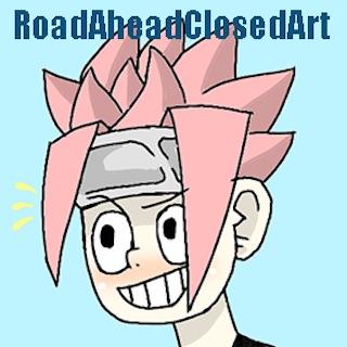 Road Ahead Closed Art