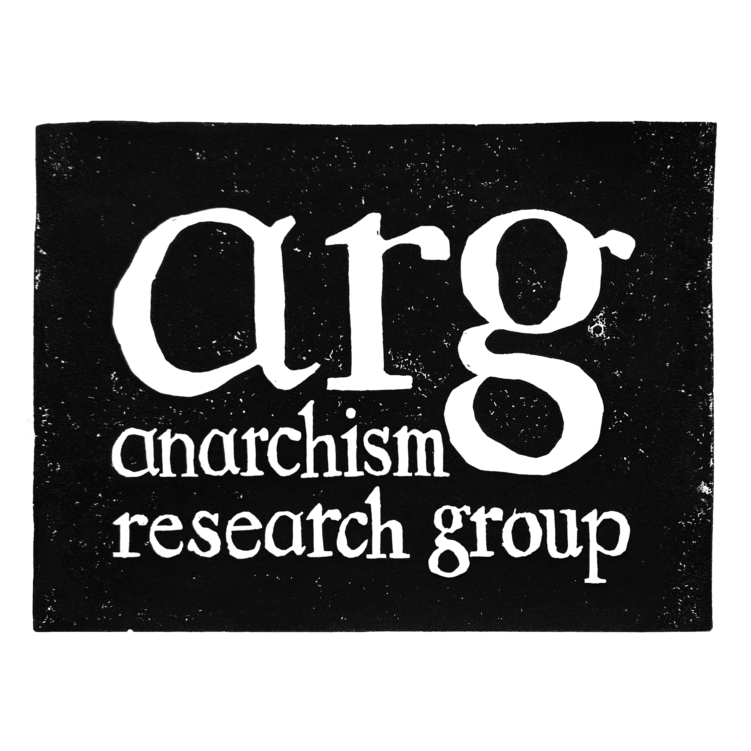 ARG: Anarchism Research Group Loughborough