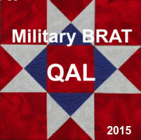 Military BRAT Quilt Along a block of the month by Chris of Shared Creativity | from QuiltAlong.net