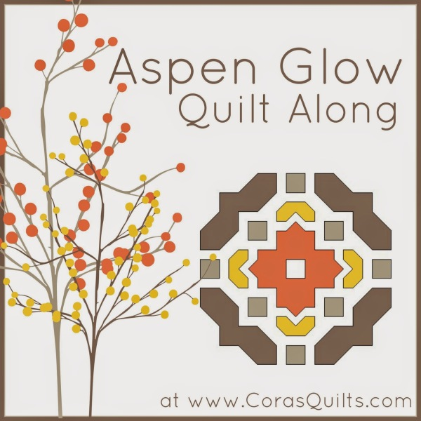 Aspen Glow Quilt Along a quilt along by Shelley of Cora's Quilts | from QuiltAlong.net