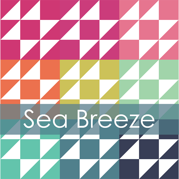 Sea Breeze Mini Quilt Along