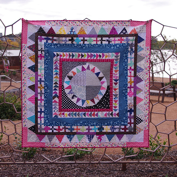 Modern Medallion Quilt Along