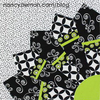 2015 Adventure Quilt a block of the month by Nancy Zieman of Nancy Zieman | from QuiltAlong.net