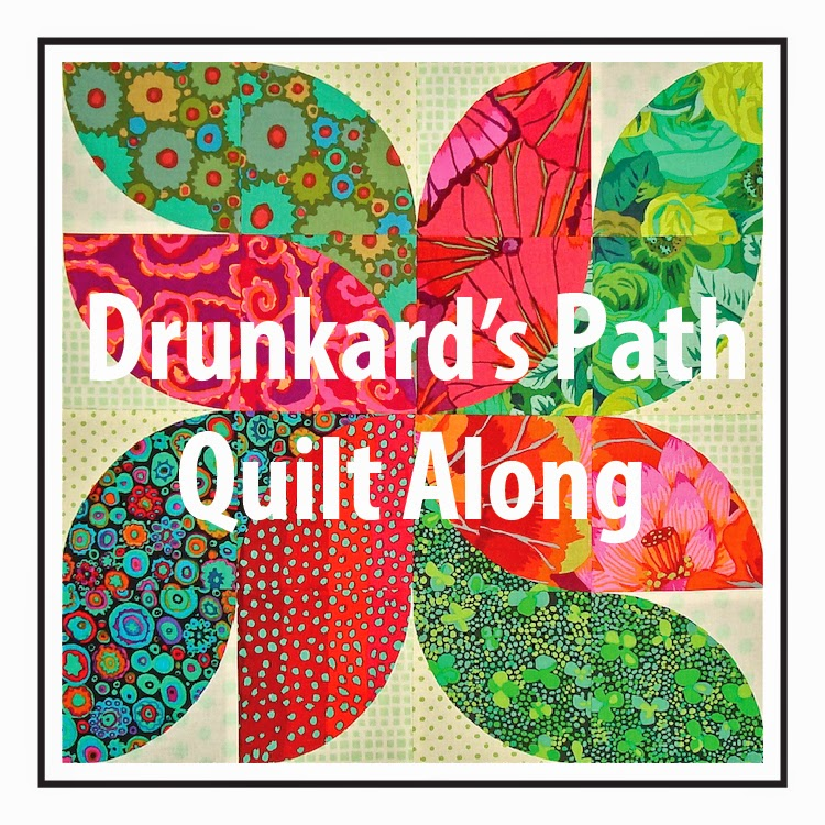 Drunkard's Path Quilt Along a quilt along by Anne of SpringLeaf Studio | from QuiltAlong.net