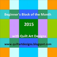 Beginners BoM 2015 a block of the month by Janeen van Niekerk of Quilt Art Designer | from QuiltAlong.net