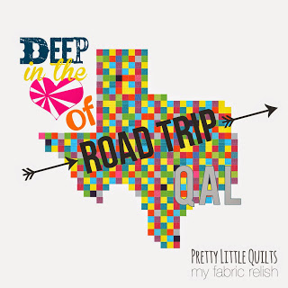 Texas Road Trip QAL a quilt along by Cristina Tepsick of Pretty Little Quilts | from QuiltAlong.net