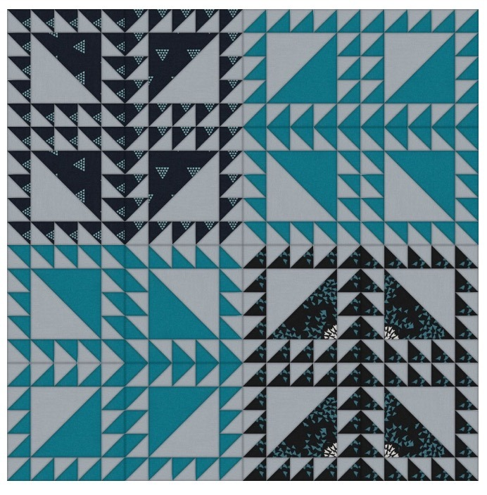 Lost Lake Quilt Along