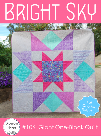 Bright Sky Quilt Along a quilt along by Alyce Blyth of Blossom Heart Quilts | from QuiltAlong.net