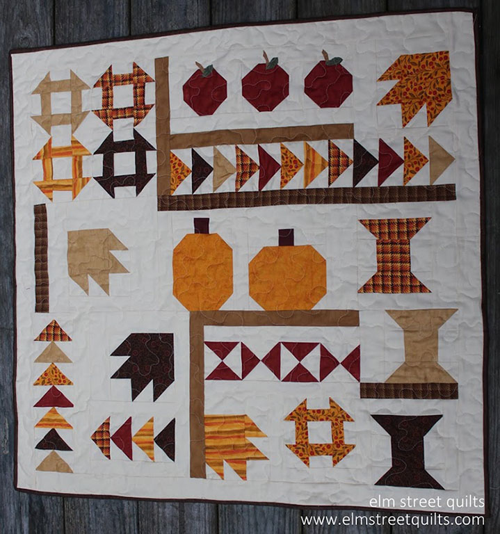 Harvest Quilt Along a quilt along by Patty of Elm Street Quilts | from QuiltAlong.net