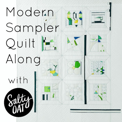 Modern Sampler Quilt Along a quilt along by Caitlin of Salty Oat | from QuiltAlong.net