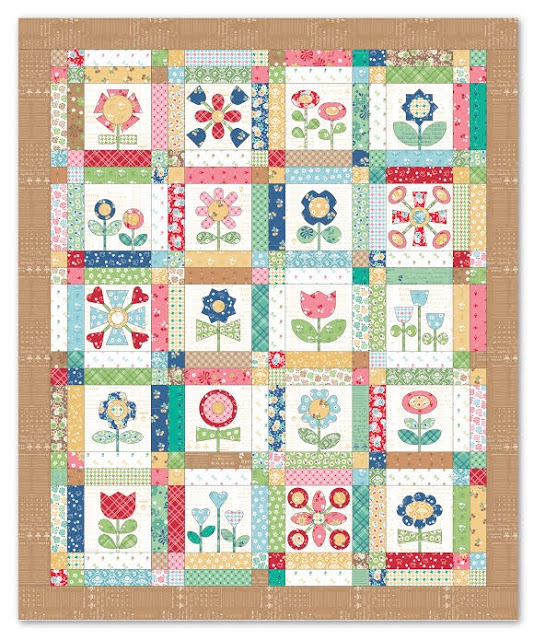 Bloom Sew Along a quilt along by Lori Holt of Bee in my Bonnet | from QuiltAlong.net