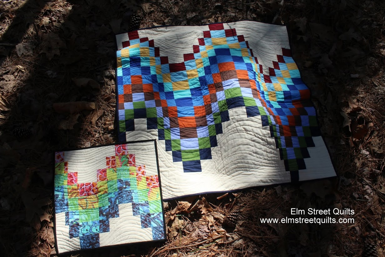Elm Street Quilts Bargello QAL a quilt along by Patty of Elm Street Quilts | from QuiltAlong.net