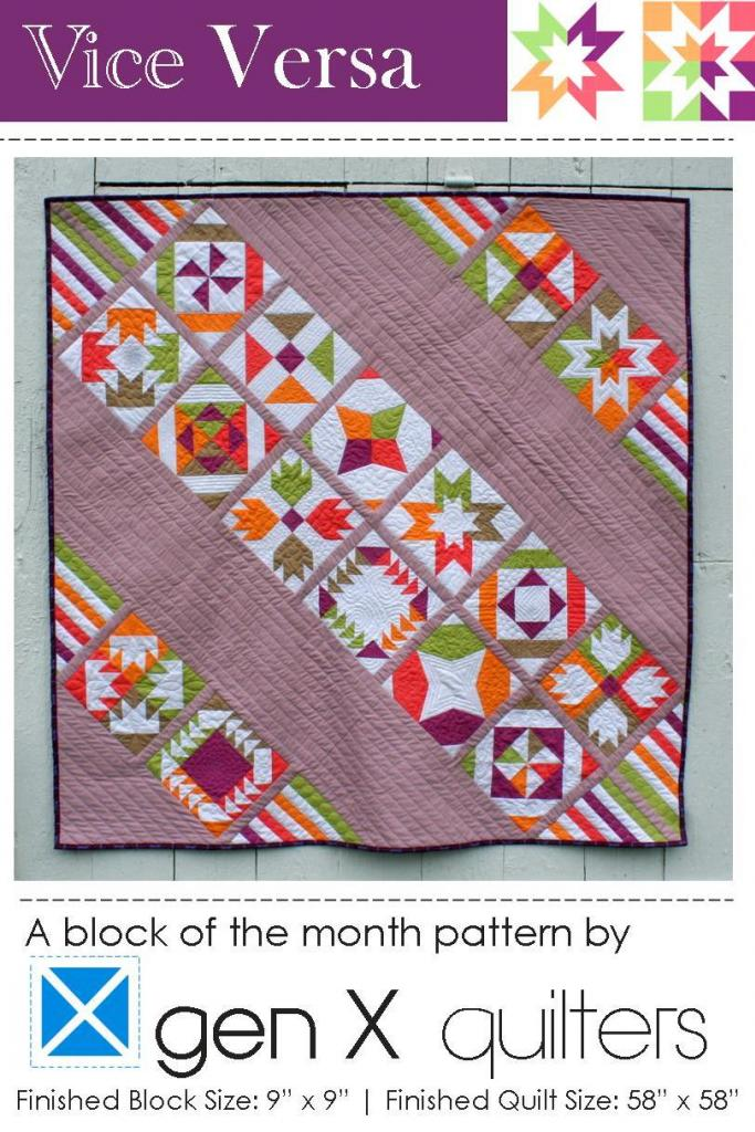 Vice Versa Block of the Month Sampler