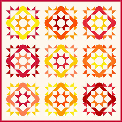 Summer Solstice Quilt-A-Long with Happy Quilting