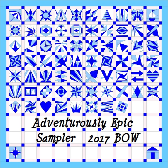 Adventurously Epic Sampler Quilt