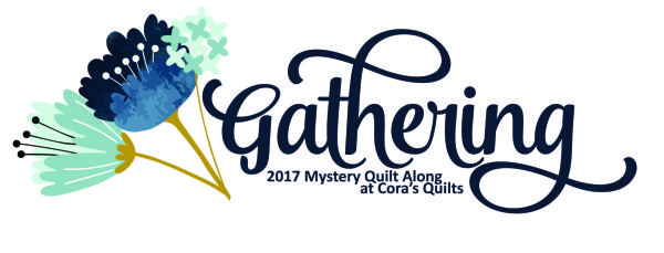 Gathering Mystery Quilt Along a quilt along by Shelley of Cora's Quilts | from QuiltAlong.net