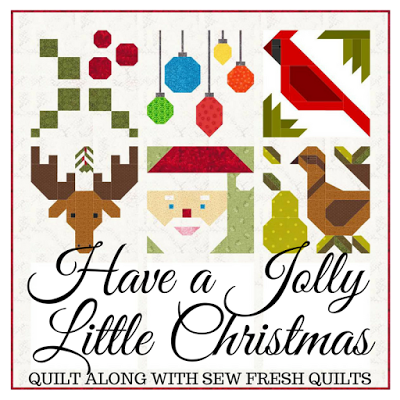 Have a Jolly Little Christmas a quilt along by Lorna McMahon of Sew Fresh Quilts | from QuiltAlong.net