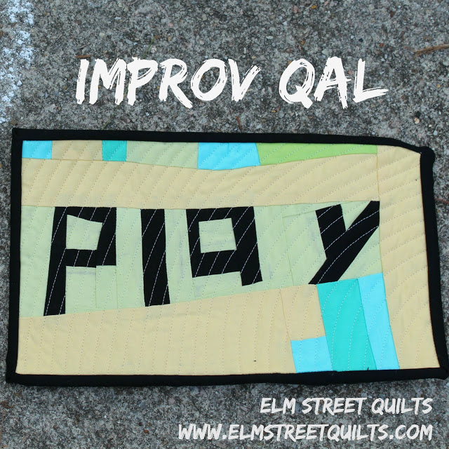 play - an improv QAL a quilt along by Patty of Elm Street Quilts | from QuiltAlong.net